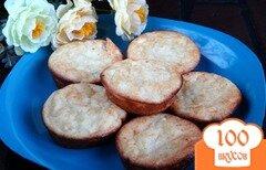 Фото рецепта: «Яблочные сырники в духовке»