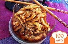Фото рецепта: «Хе из кальмаров по-корейски»