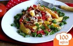 Фото рецепта: «Картофель, жаренный по афонскому рецепту»