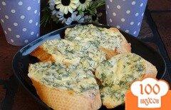 Фото рецепта: «Луково-сырные гренки»