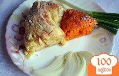 Фото рецепта: «Луково-томатный хлеб»