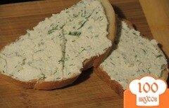 Фото рецепта: «Крем-сыр из творога и зелени»