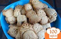 Фото рецепта: «Печенье овсяное фигурное»