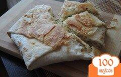 Фото рецепта: «Быстрый слоёный сырный пирог в мультиварке»