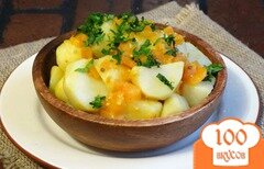 Фото рецепта: «Картофель по-бомбейски»