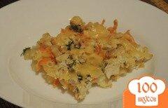 Фото рецепта: «Запеканка из макарон и курицы»