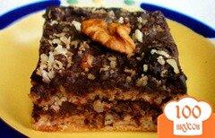 Фото рецепта: «Ореховый торт с кэробом и пряностями»