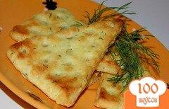 Фото рецепта: «Сырные крекеры с укропом»