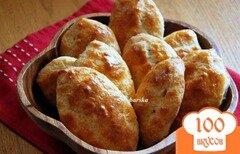 Фото рецепта: «Пирожки из творожного теста с вишней»