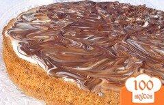 Фото рецепта: «Пирог ореховый без муки»