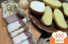 Фото рецепта: «Соленое сало в прованских травах»