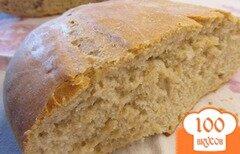 Фото рецепта: «Домашний серый хлеб на закваске»