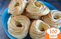 Фото рецепта: «Заварные кольца»