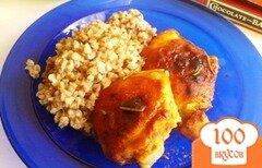 Фото рецепта: «Куриные бедра в маринаде»