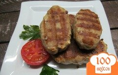 Фото рецепта: «Кебабчета из свиного фарша»