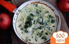 Фото рецепта: «Фритатта с картофелем и шпинатом»