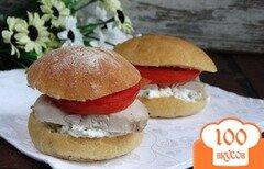 Фото рецепта: «Домашние бургеры с мясом и творогом»
