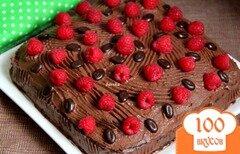 Фото рецепта: «Шоколадный торт на раз, два, три»