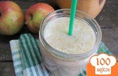 Фото рецепта: «Смузи из яблока тыквы на кислом молоке»