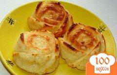 Фото рецепта: «Ванильные сырники в духовке»
