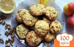 Фото рецепта: «Ореховое печенье с кофейным ароматом»