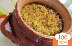 Фото рецепта: «Ячнево-гречневая каша на гарнир в духовке»