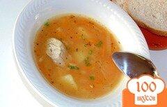Фото рецепта: «Рисовый суп с томатной заправкой»