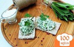 Фото рецепта: «Острая закуска с черемшой»