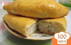 Фото рецепта: «Пирожки с рисом в духовке»