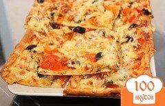 Фото рецепта: «Экспресс пицца»