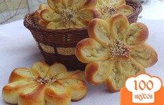 """Фото рецепта: «Пирожки картофельные """"Цветочки""""»"""
