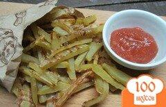 Фото рецепта: «Картофель фри без масла»