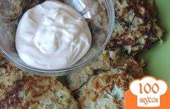 Фото рецепта: «Драники из кабачков и картофеля»