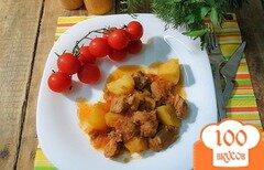 Фото рецепта: «Азу по-татарски в мультиварке»