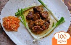 Фото рецепта: «Свинина в медовом соусе»