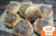 Фото рецепта: «Сладкие булочки с маком и кунжутом»