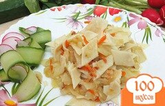 Фото рецепта: «Галушки с капустой»