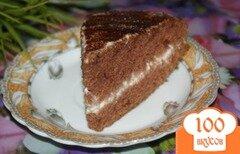 Фото рецепта: «Шоколадный торт на майонезе»