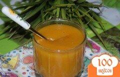 Фото рецепта: «Тыквенно-яблочный кисель»