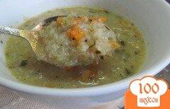 Фото рецепта: «Диетический суп из цветной капусты.»