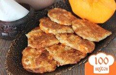 Фото рецепта: «Сырники с тыквой в духовке»