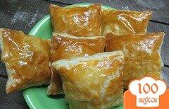 Фото рецепта: «Пирожки с брынзой и щавелем»