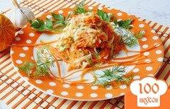 Фото рецепта: «Салат с огурцом, морковью и редькой»