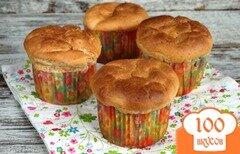 Фото рецепта: «Творожные кексы с черносливом»