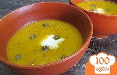 Фото рецепта: «Суп-пюре из тыквы и квашенной капусты»