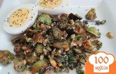 Фото рецепта: «Кабачки под арахисовым соусом»