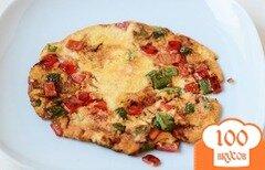 Фото рецепта: «Омлет с перцем»