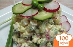 Фото рецепта: «Весенний салат из овощей»