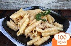 Фото рецепта: «Макароны с фаршем индейки в мультиварке»