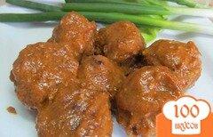 Фото рецепта: «Фрикадельки из говядины с морковью»